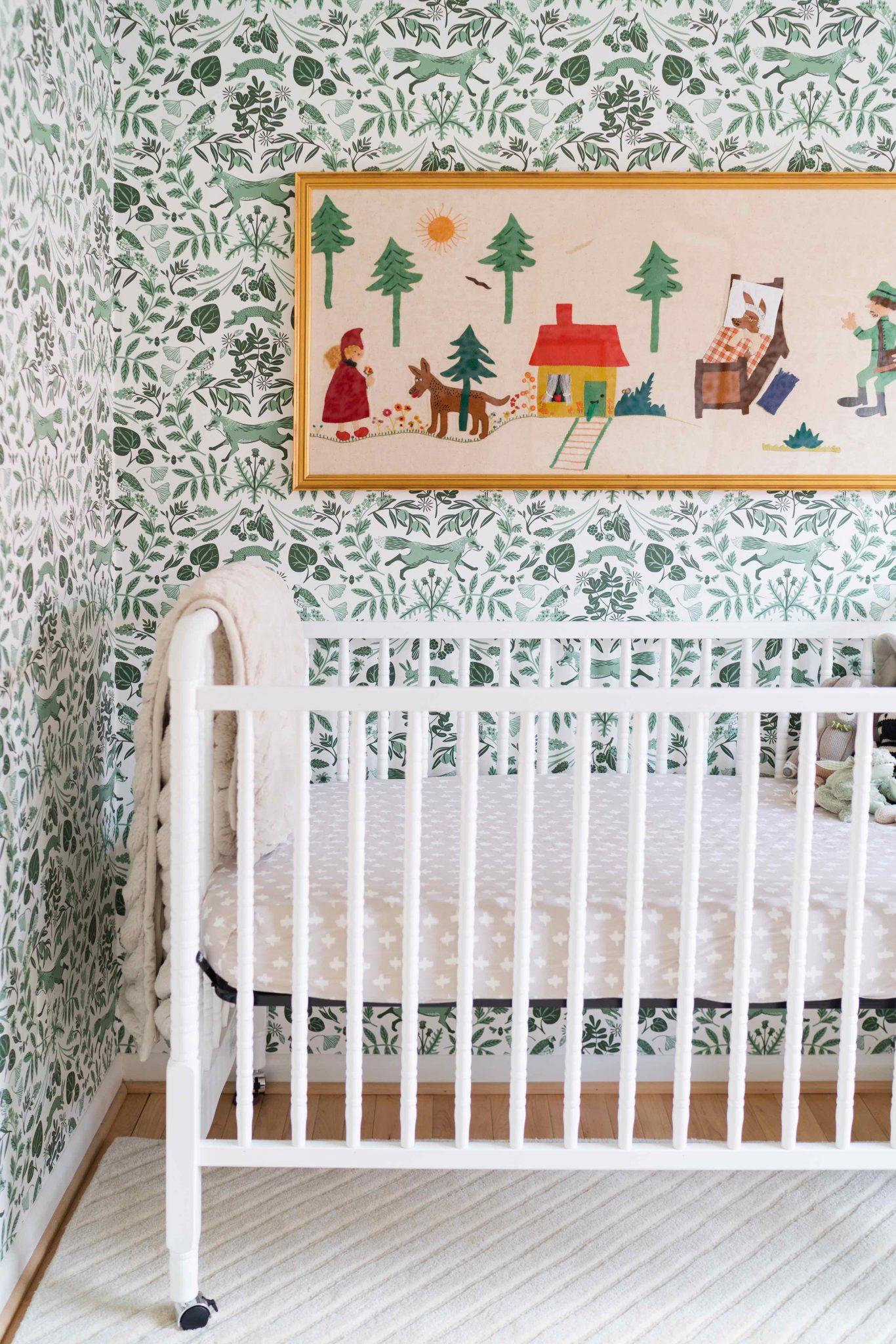 Tapestry in nursery