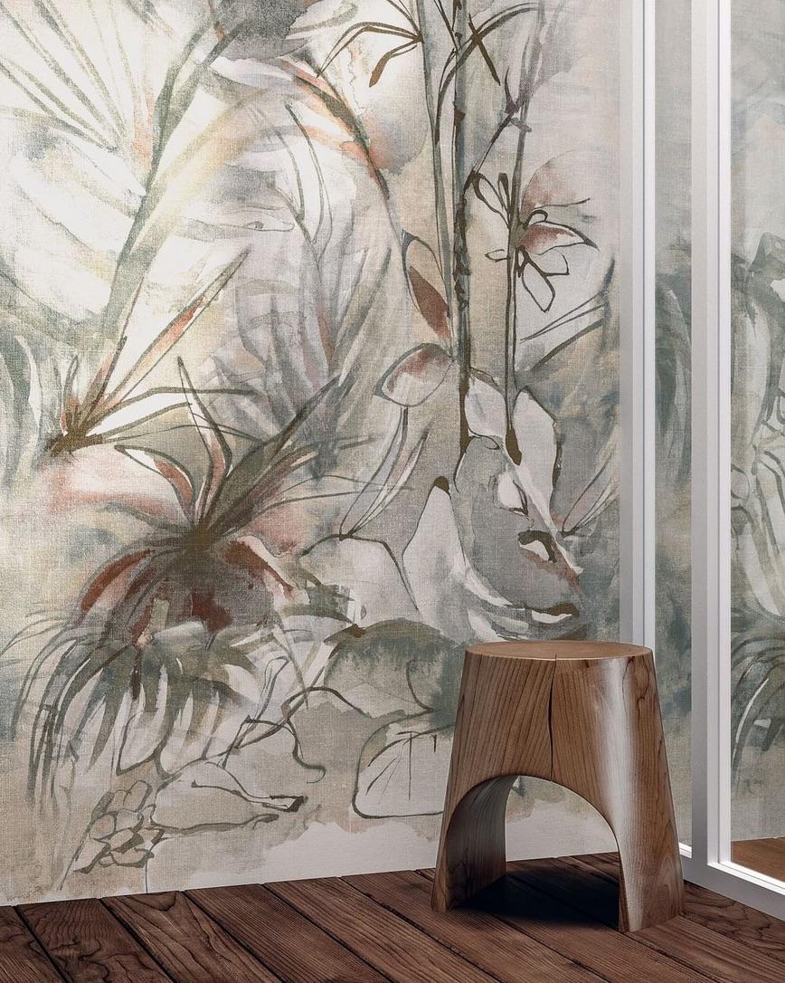 Tiled art wall