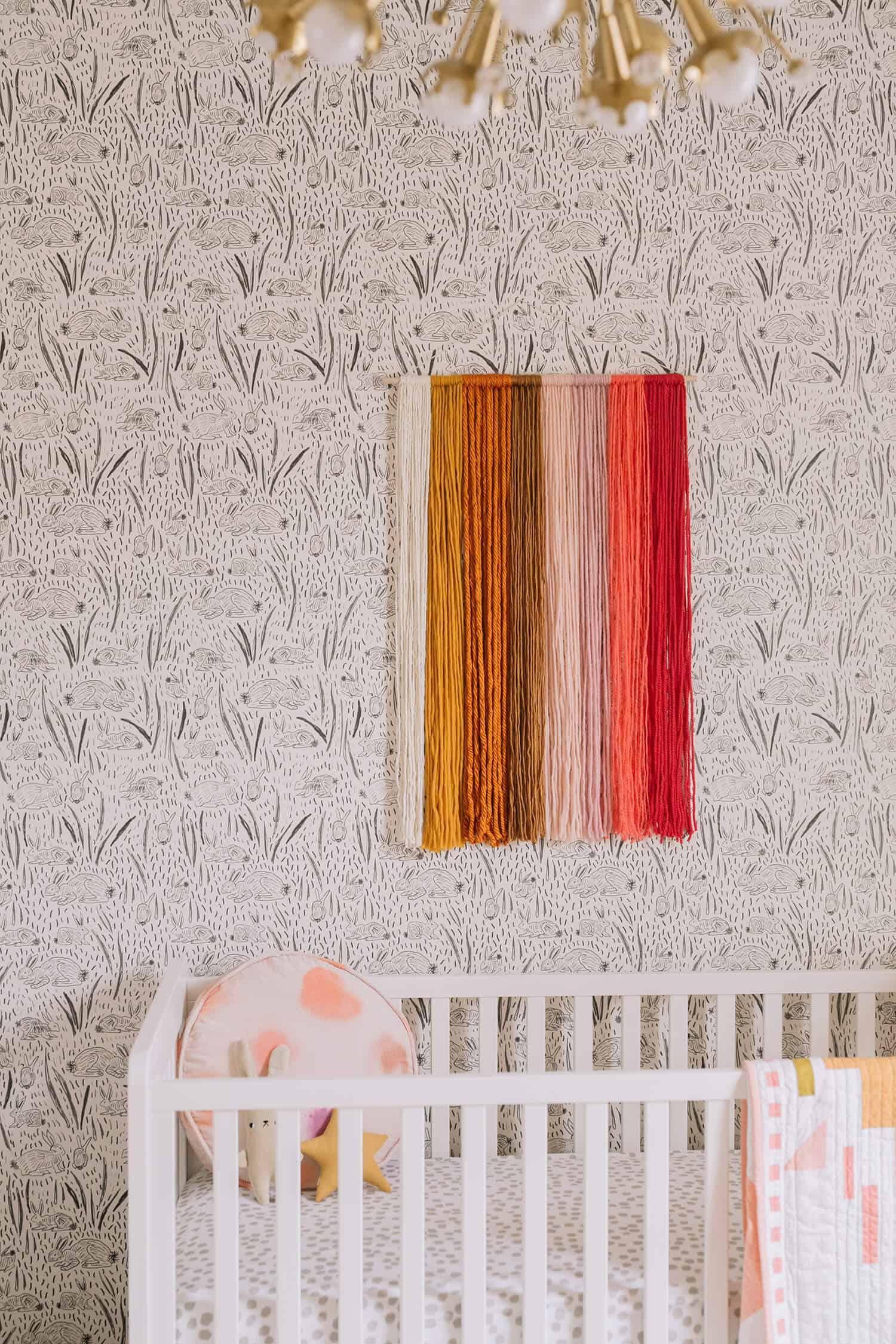 Yarn art nursery
