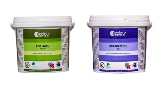 Ecolour paint nursery interior walls