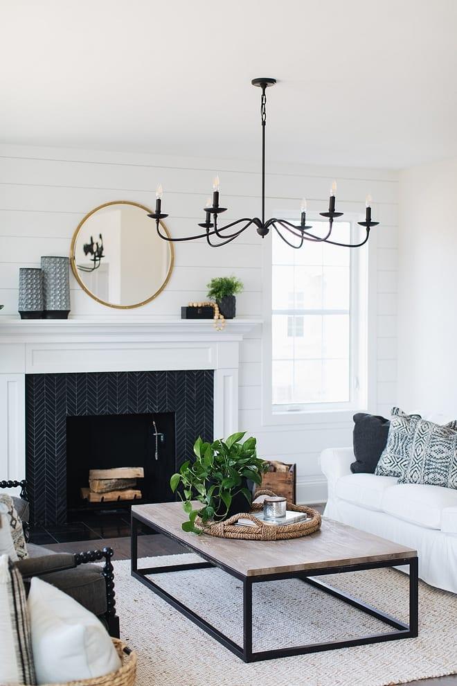 white-black-living-room
