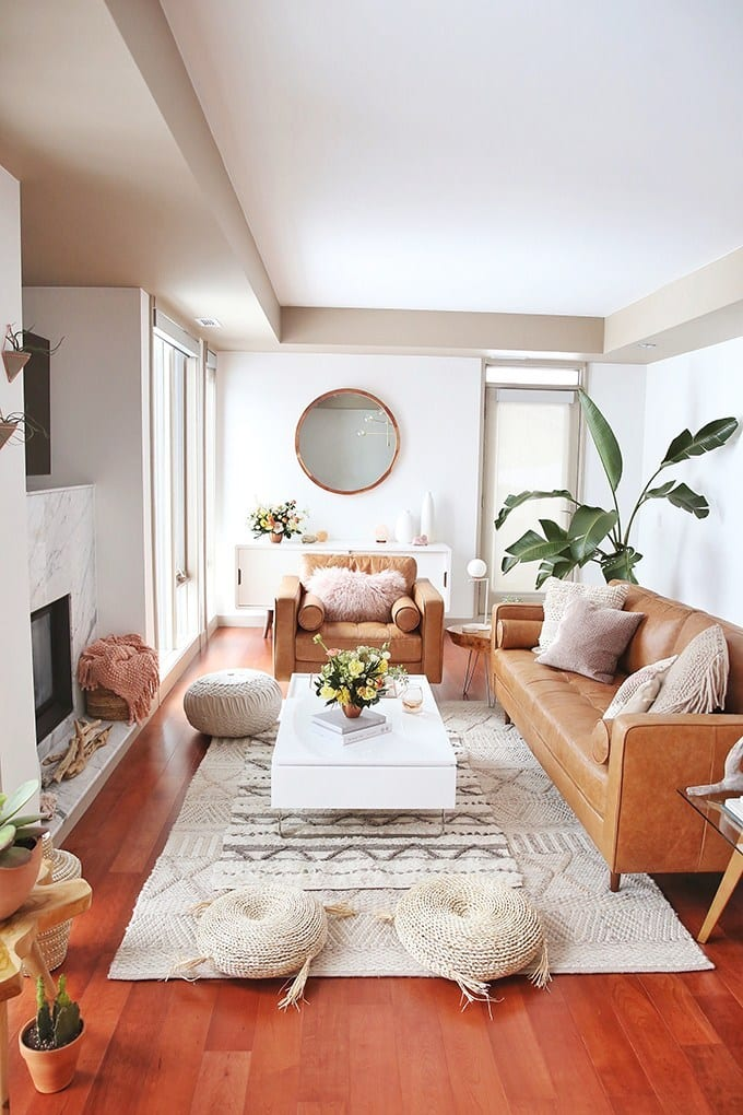 Small Boho Living Room: 45+ Bohemian Living Room Ideas