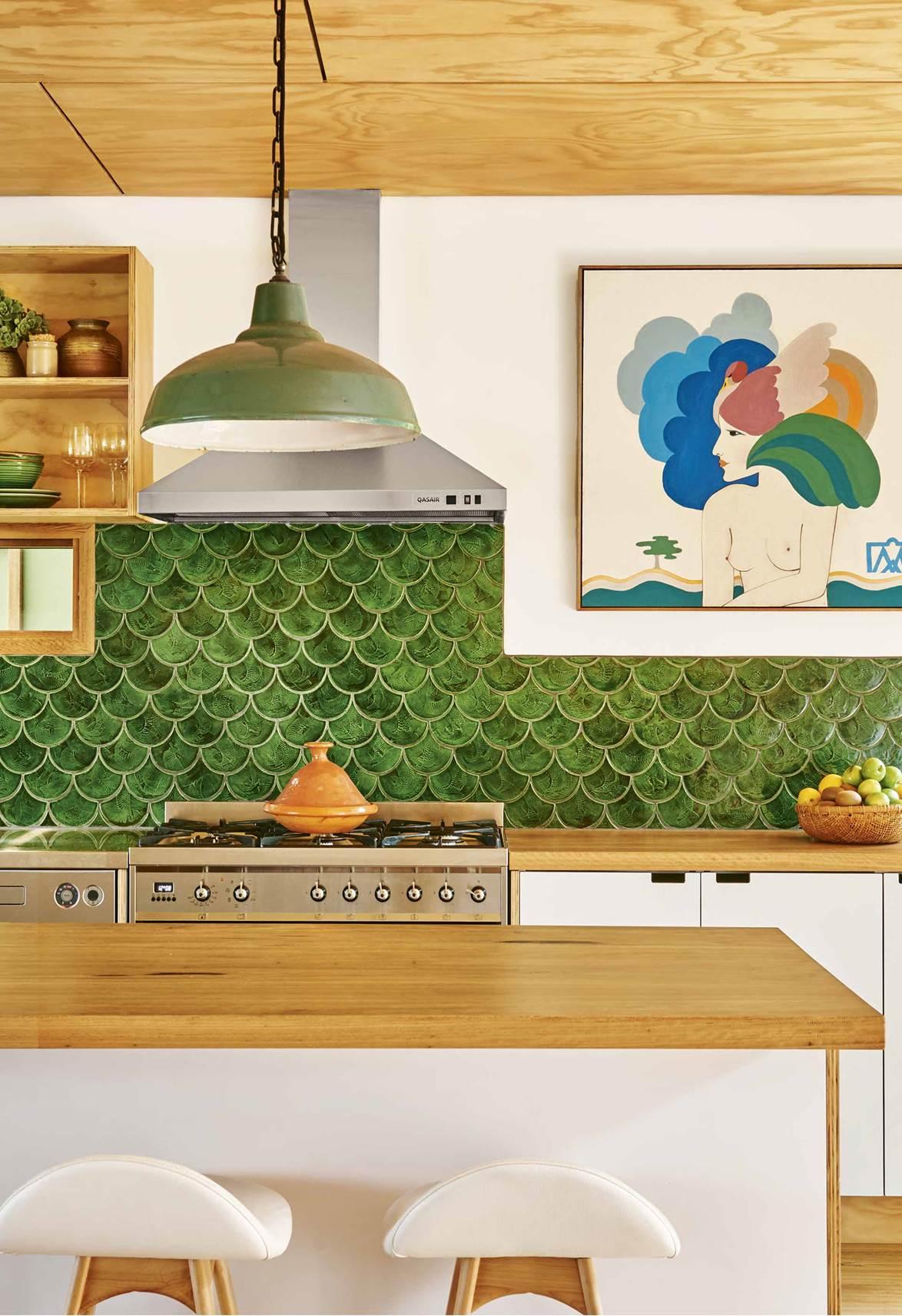 green-tile-kitchen