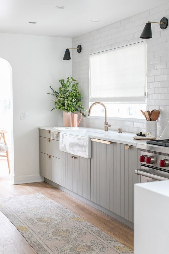 light grey cabinetry