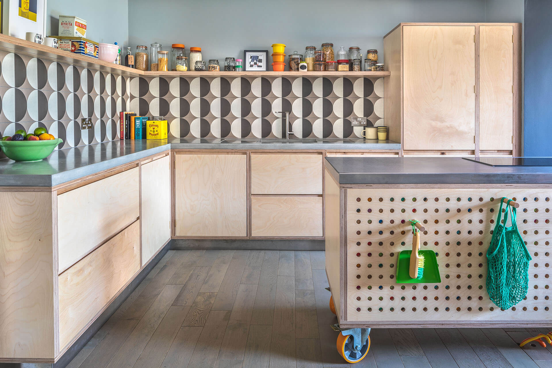 Pegboard Kitchen