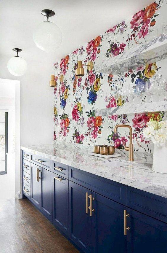 35 Kitchen Wallpaper Ideas Modern Kitchen Wallpaper Inspiration