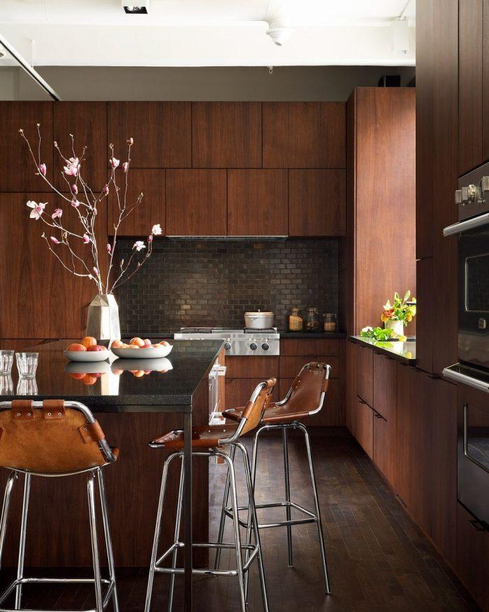 brown-modern-kitchen