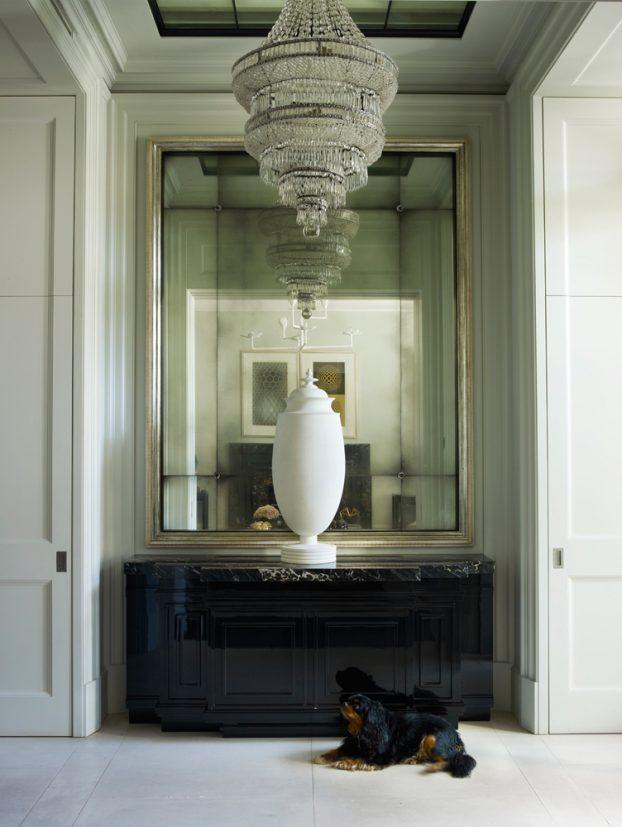 contemporary-classic-hallway-mirror