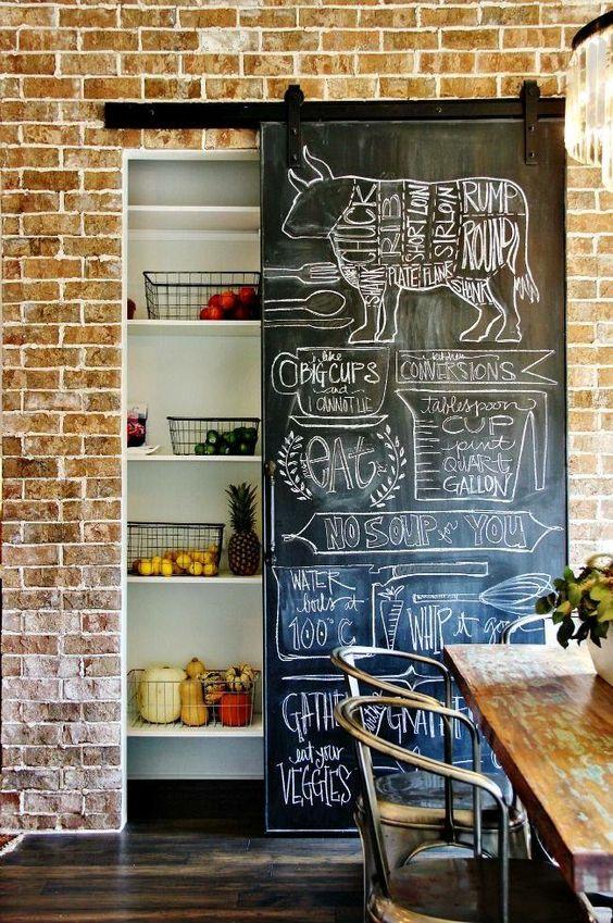 restaurant chalkboard