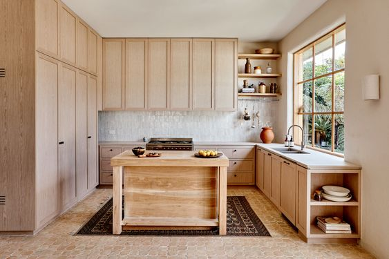 rustic pale timber