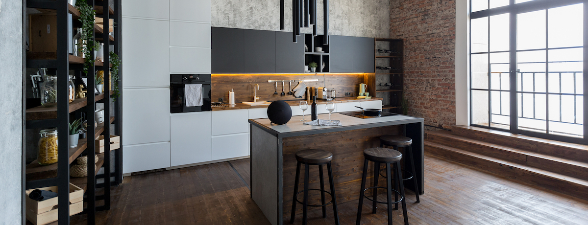 42+ Industrial kitchen designs – modern industrial kitchen ideas