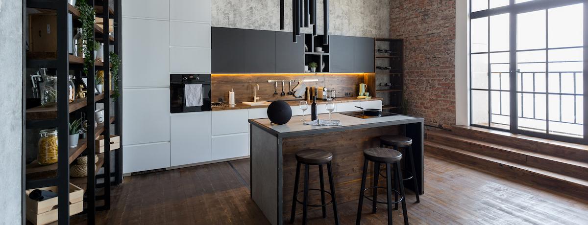 42+ Industrial kitchen designs – modern industrial kitchen ideas