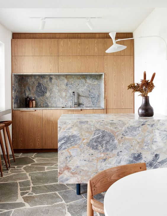 timber and marble
