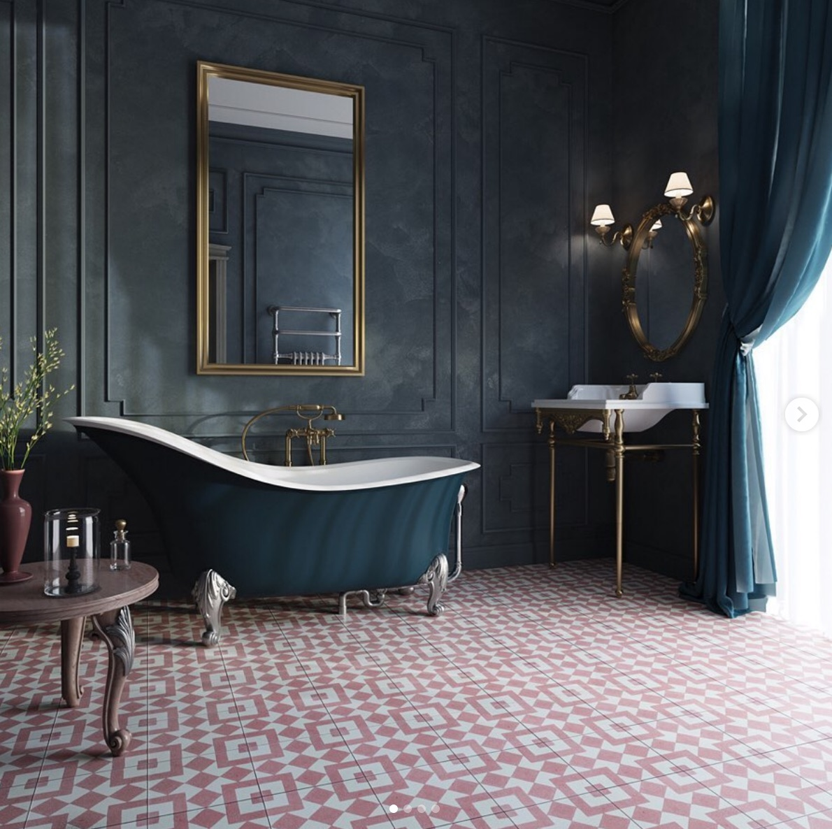 30 Stunning Art Deco Bathrooms