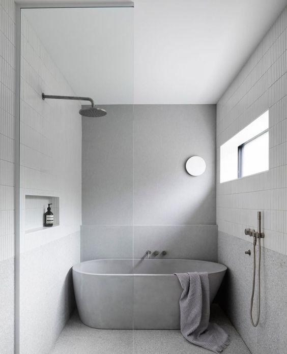 concrete statement tub