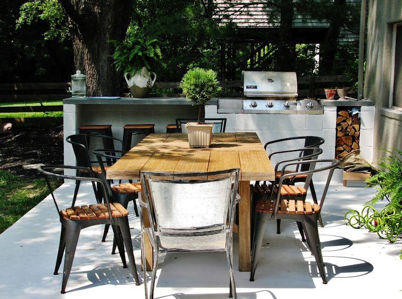 cozy patio seating