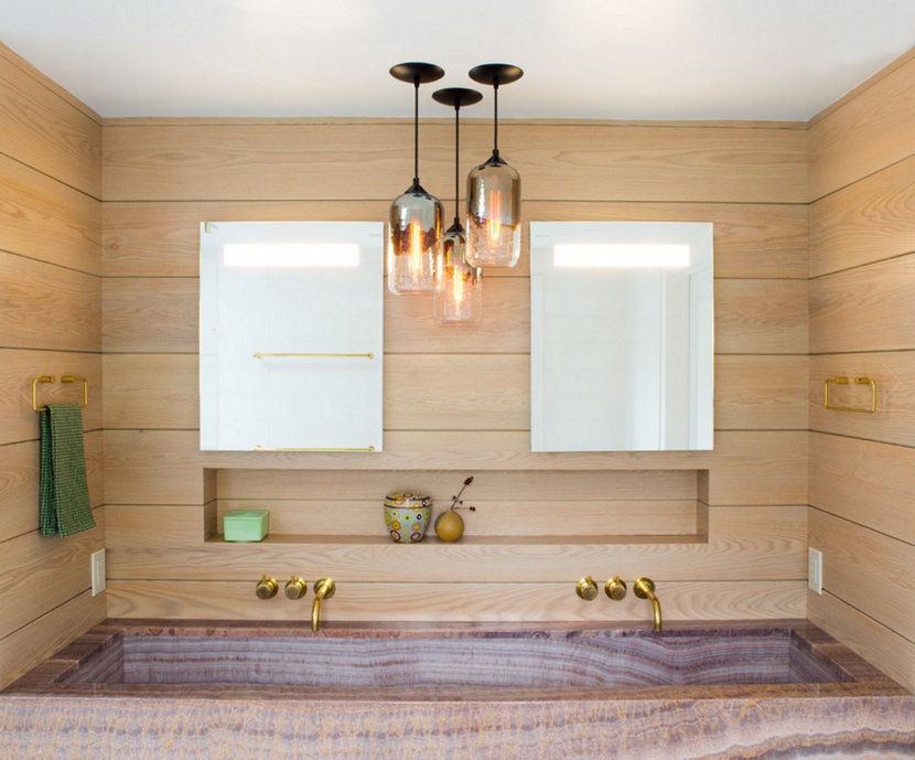 There's bathroom lighting ideas for every taste or you can always design your own!