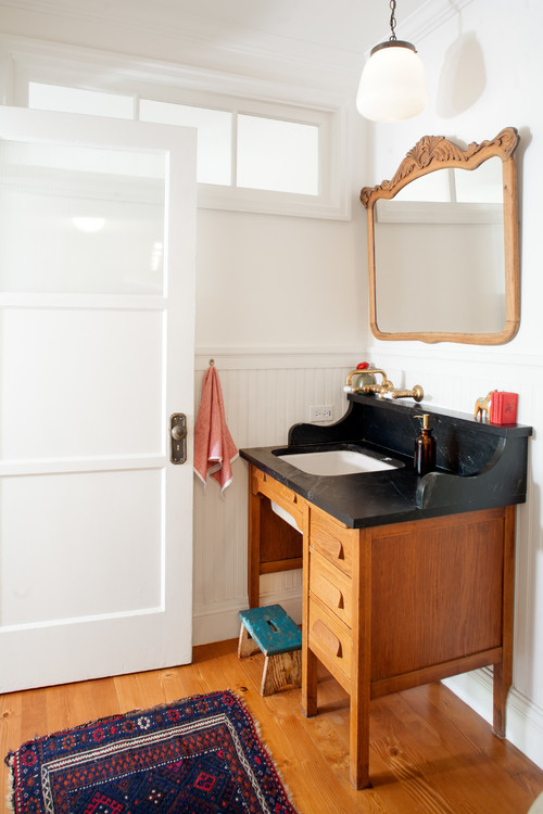 Repurposed vanity