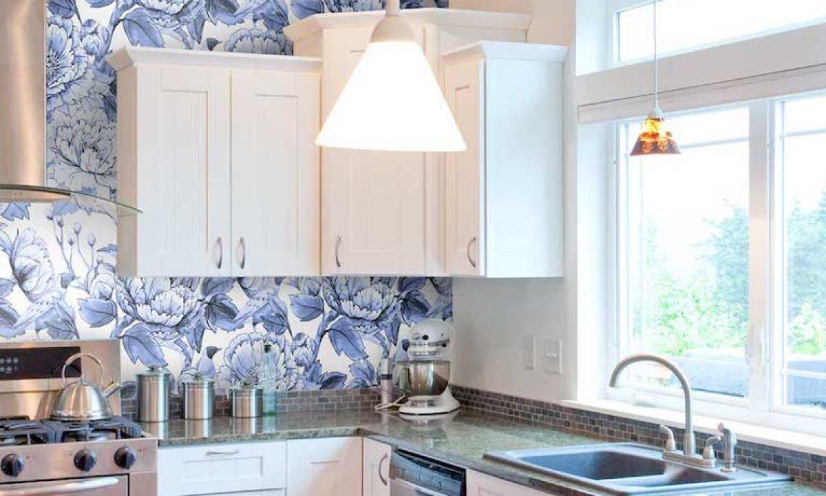9+ Kitchen wallpaper ideas   modern kitchen wallpaper inspiration