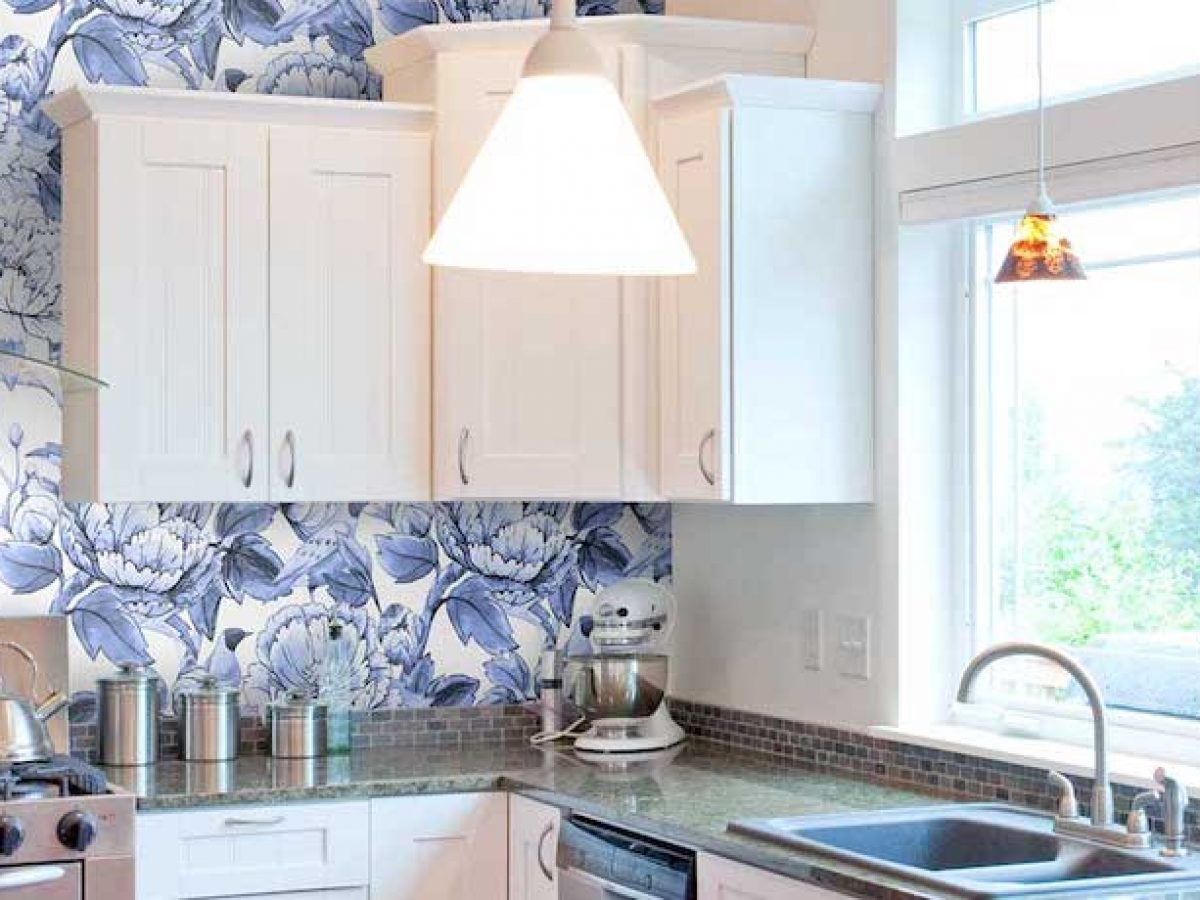 35 Kitchen Wallpaper Ideas Modern Kitchen Wallpaper Inspiration