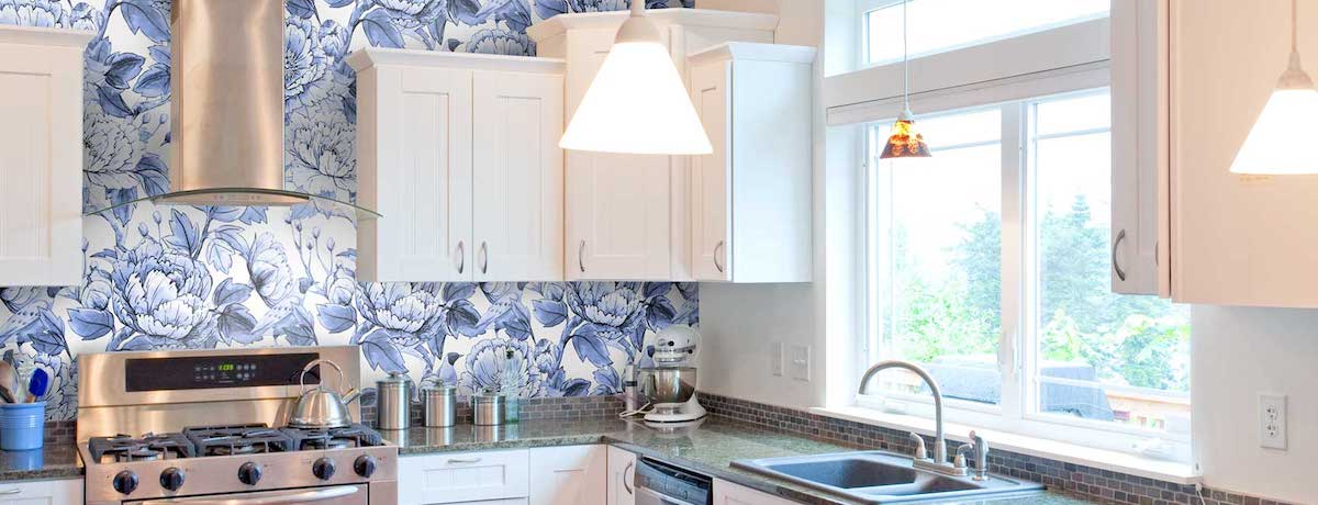 Beautiful kitchen wallpaper ideas for your home