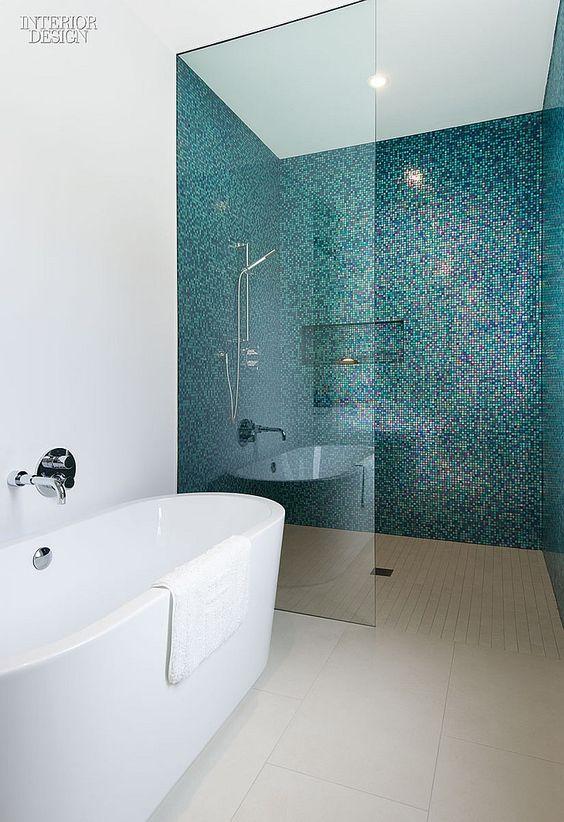 minimalist with mosaic