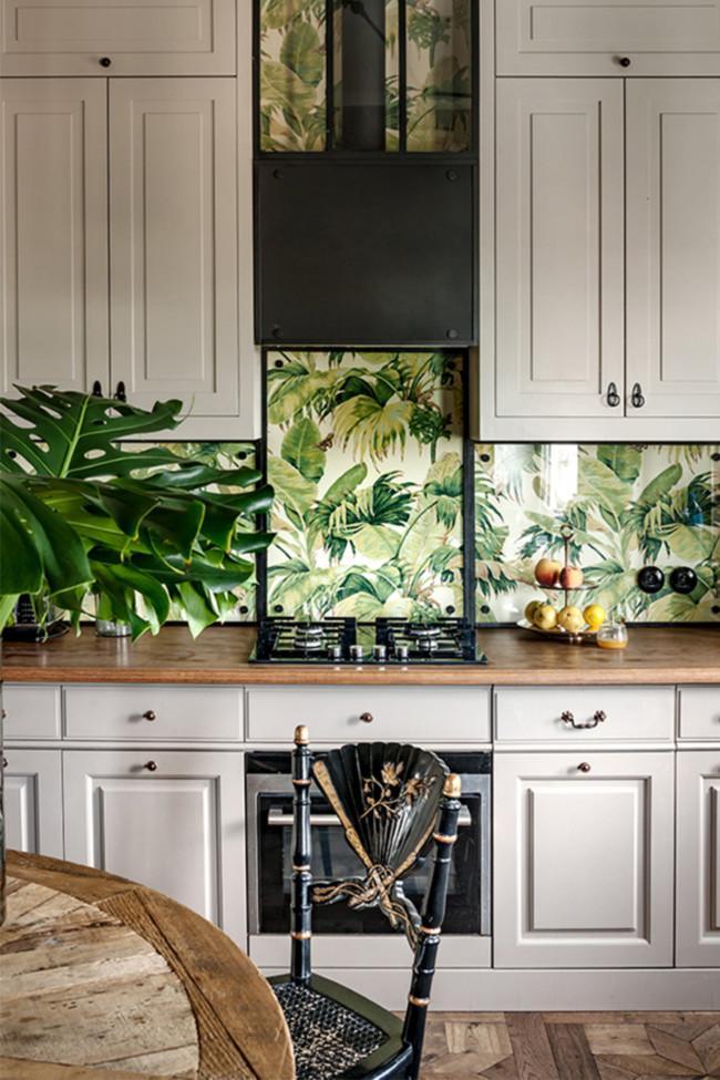 tropical-wallpaper-kitchen