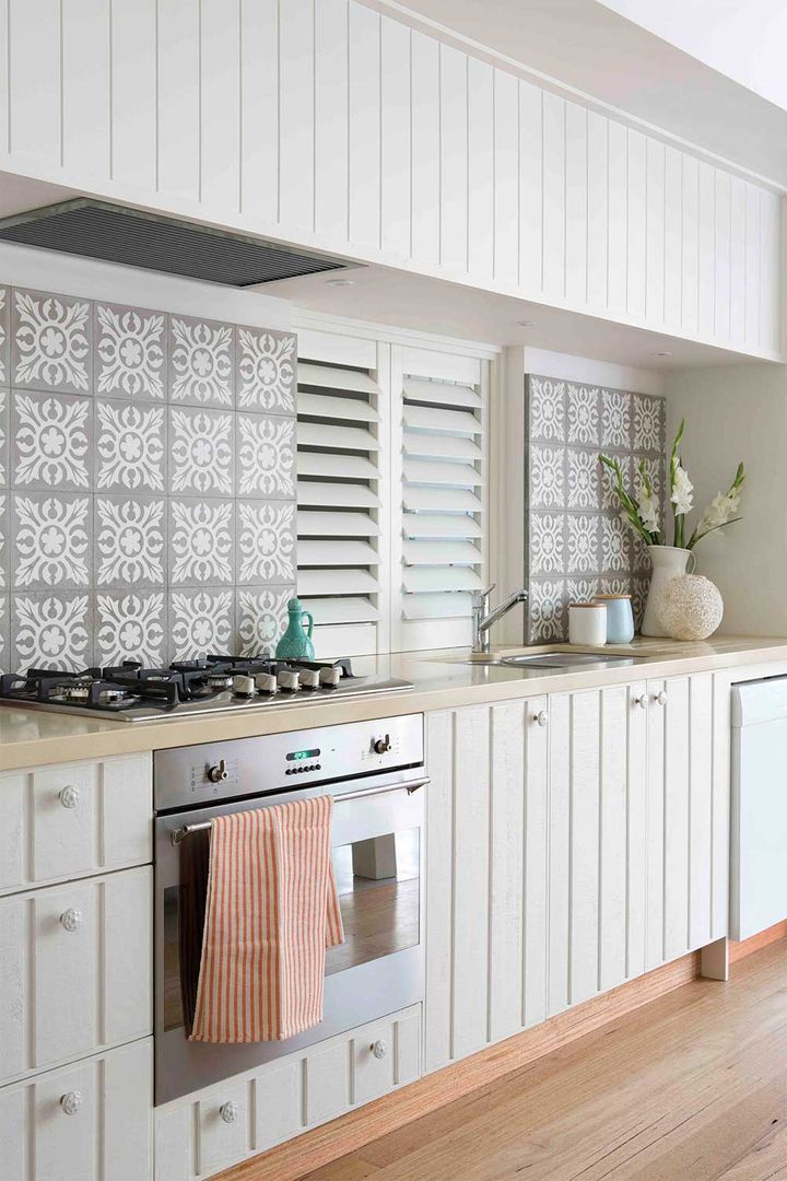 white cabinets pale wooden floors