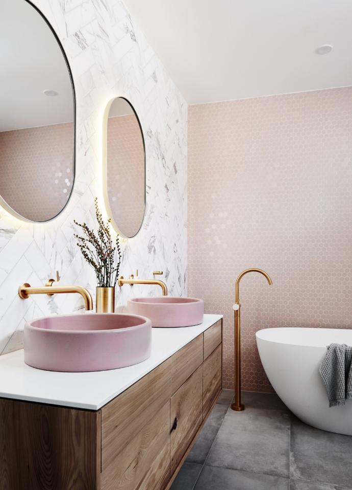 Pink basins
