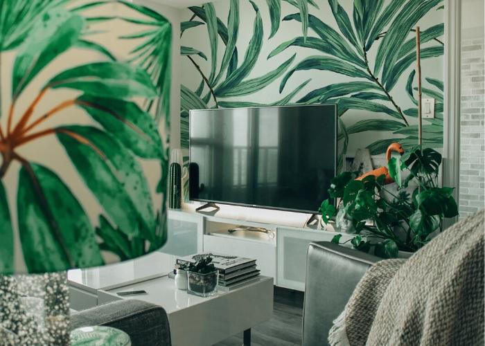 leaf wallpaper design