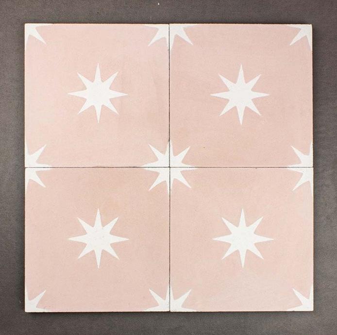 Blush tile