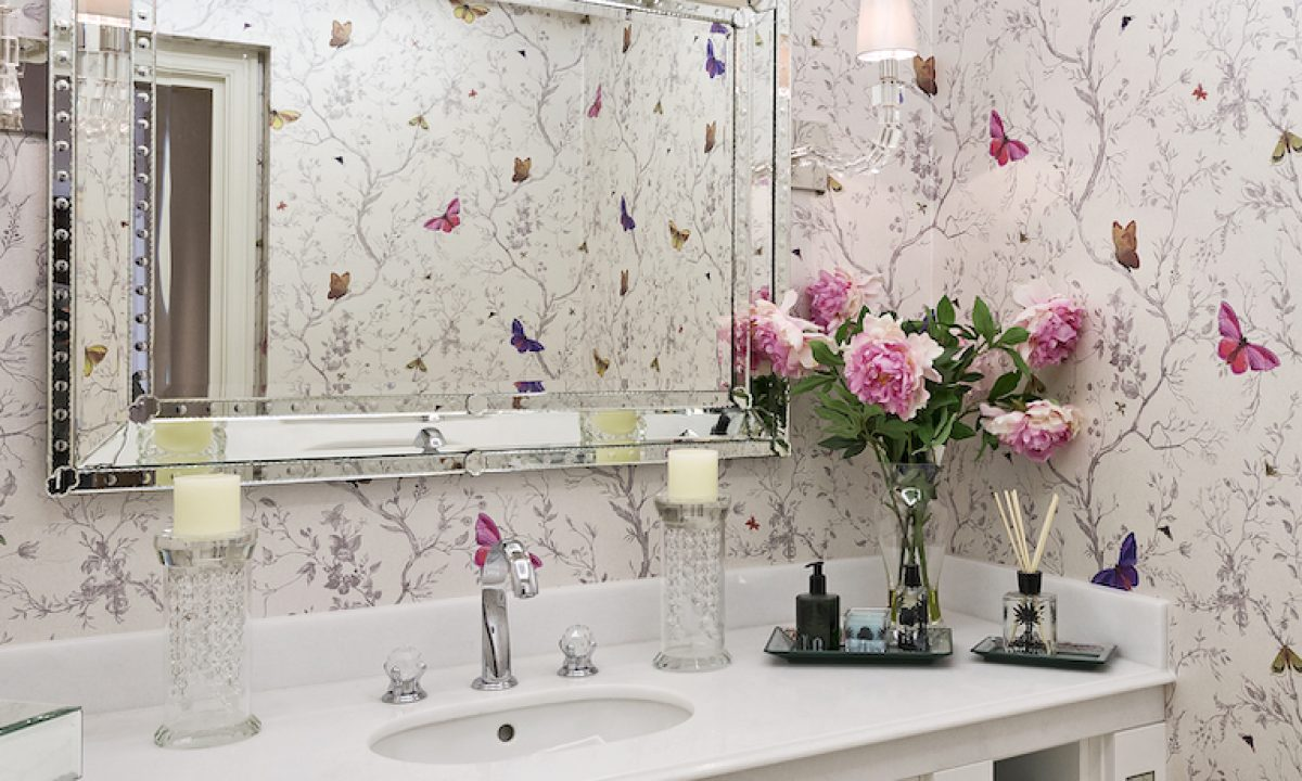 40 Bathroom Wallpaper Ideas Floral Patterned And More