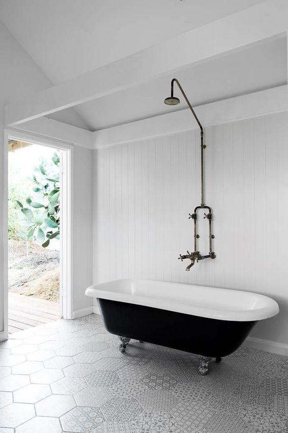 laidback cool bathroom shower