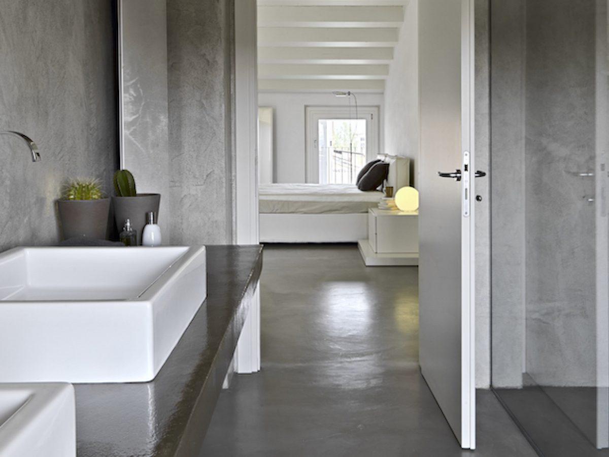 35 Concrete Bathroom Designs Polished Concrete Floors And Tile Ideas