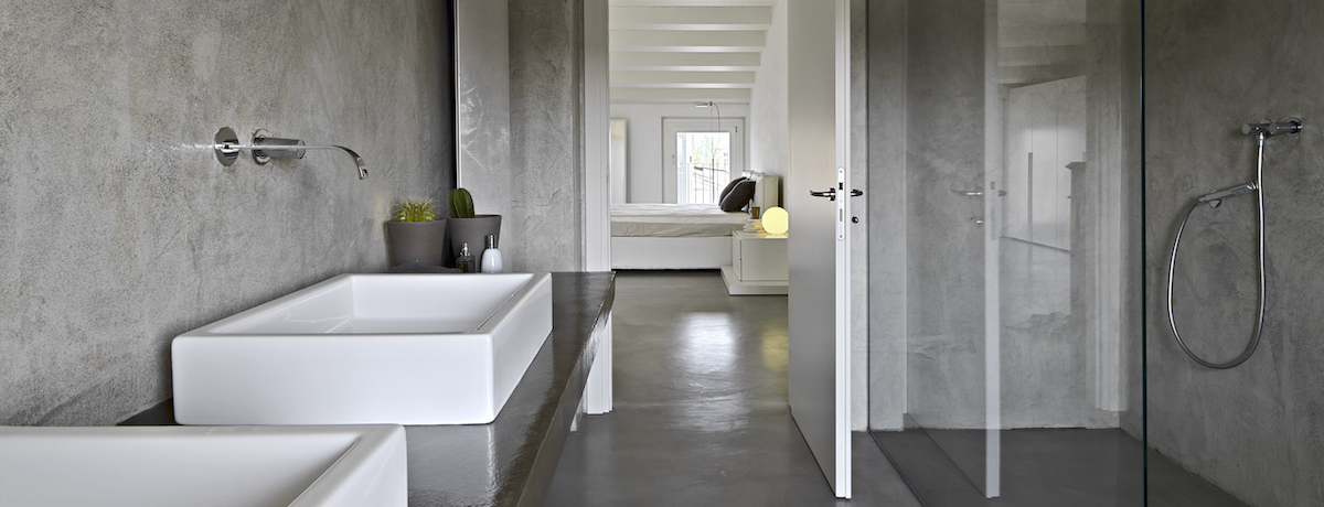 Concrete bathroom ideas and designs