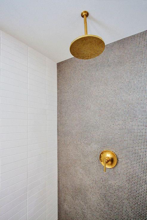 gold showerhead
