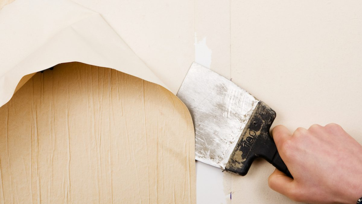 How To Remove Wallpaper Removing Old Wallpaper And Diy Tips