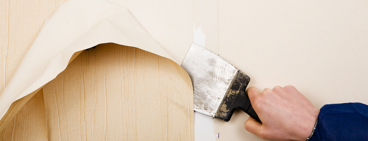 Remove wallpaper from your walls