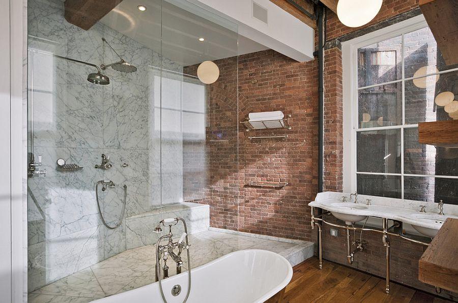 industrial-bathroom-brick-wall
