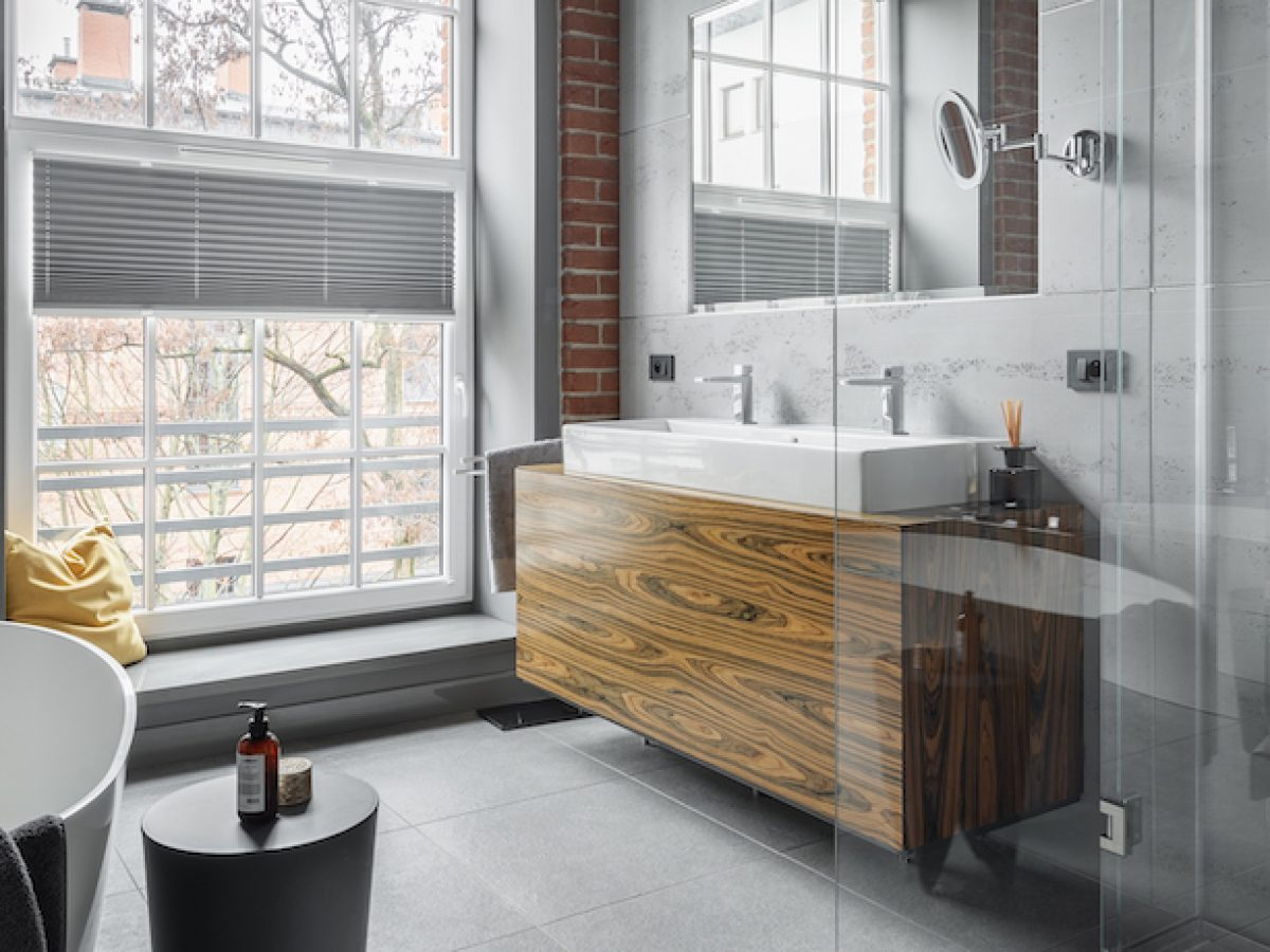 35+ Industrial Bathroom Ideas For You - Perfect For Renovation