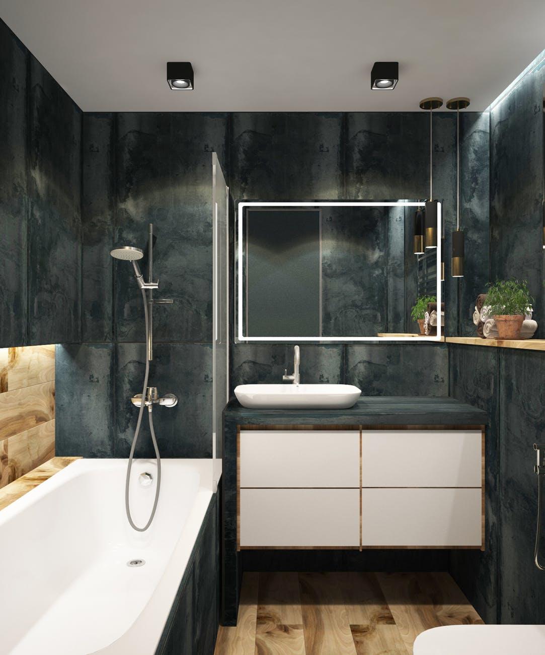 bathroom minimalism