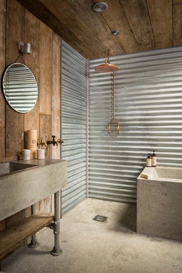 40 Rustic Bathroom Ideas Country Style And Modern Rustic Bathroom