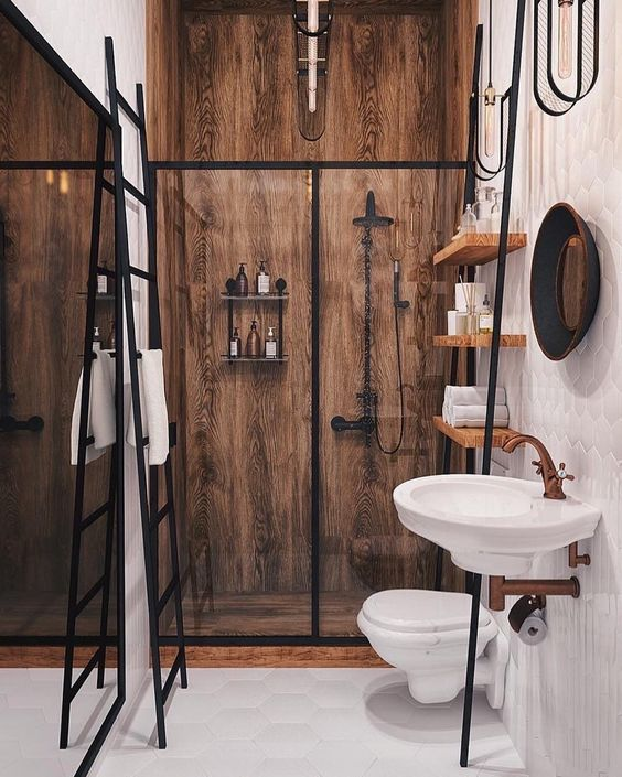 wall hung toilet and vanities