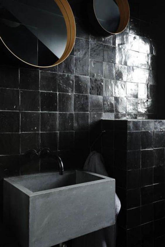 square black tiles
