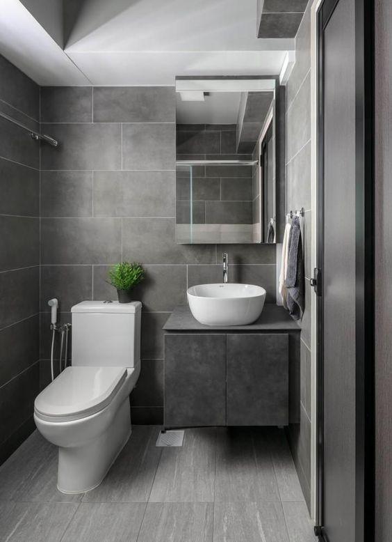 40 Grey Bathroom Ideas And