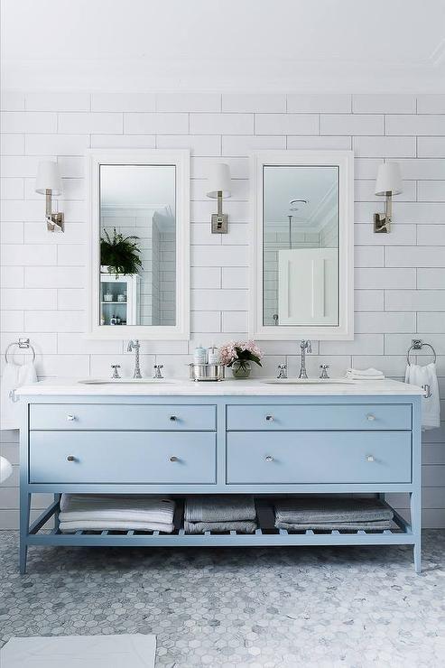 baby blue bathroom