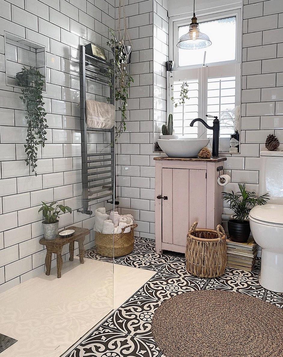 Moscaic floor tiles