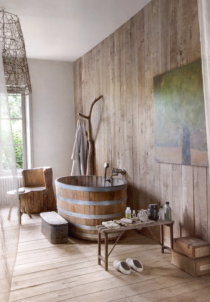 barrel-bathtub