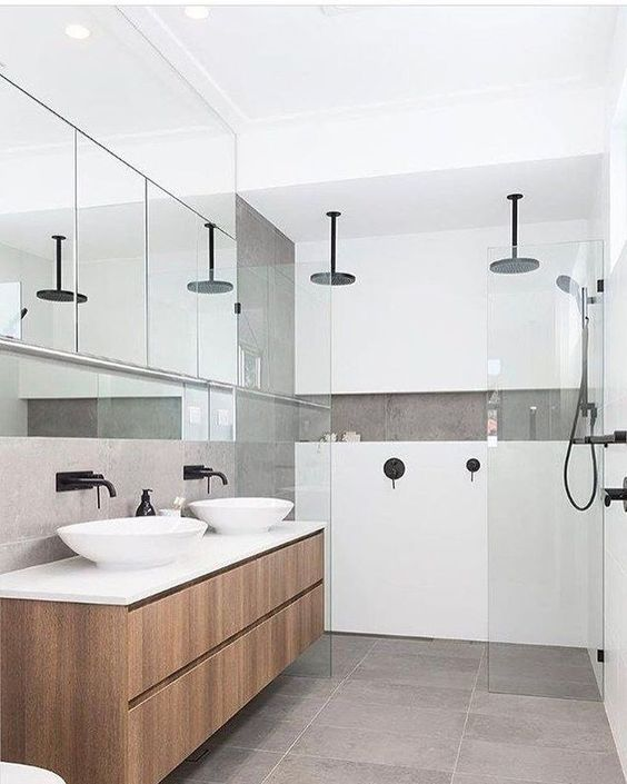 ensuite with double shower