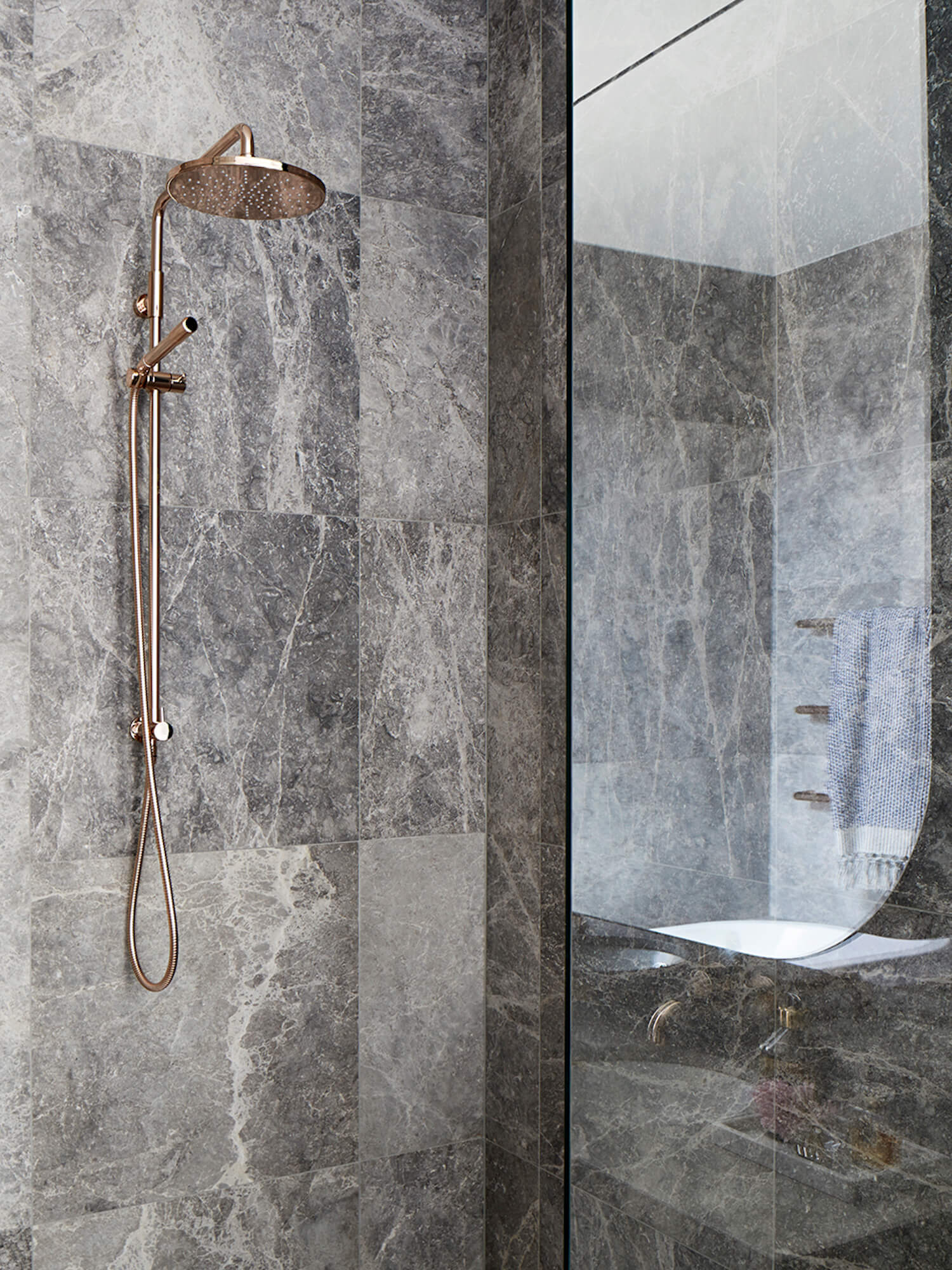 grey scale marble